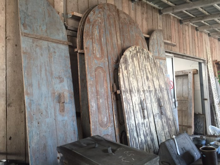 European doors - architectural salvage