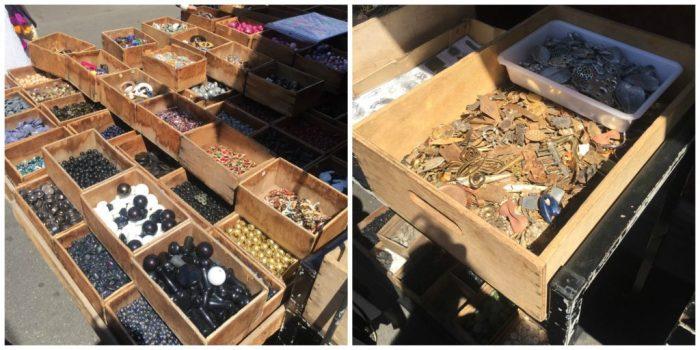 beads & hardware at the Paris Flea Market