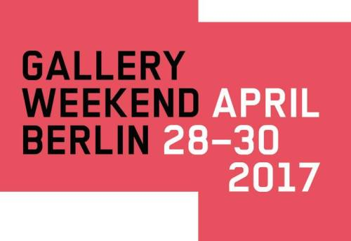 Gallery Weekend Berlin 2017