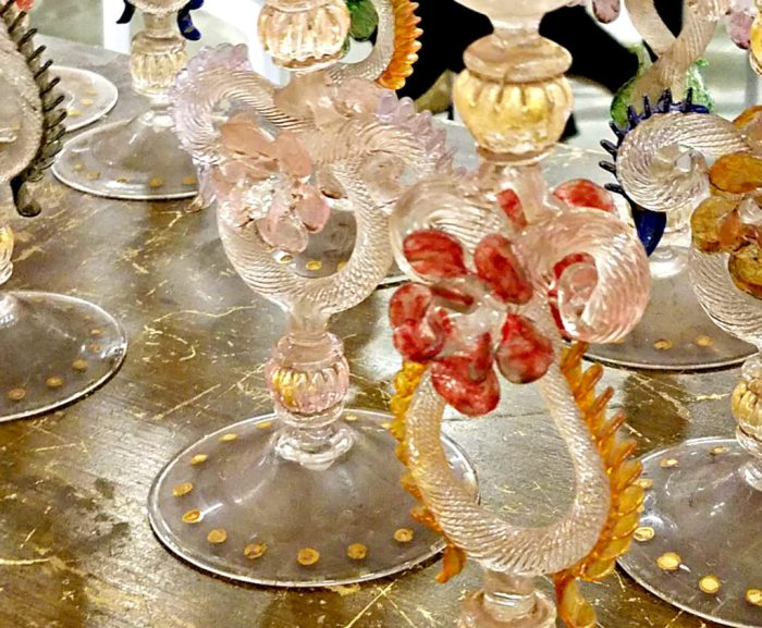 Murano Glass Stems