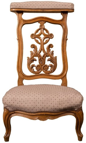 French chairs at Lolo French Antiques: Prie dieu