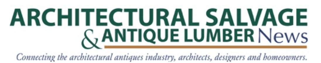 Architectural Salvage & Antique Lumber News interviews Toma Clark Haines The Antiques Diva