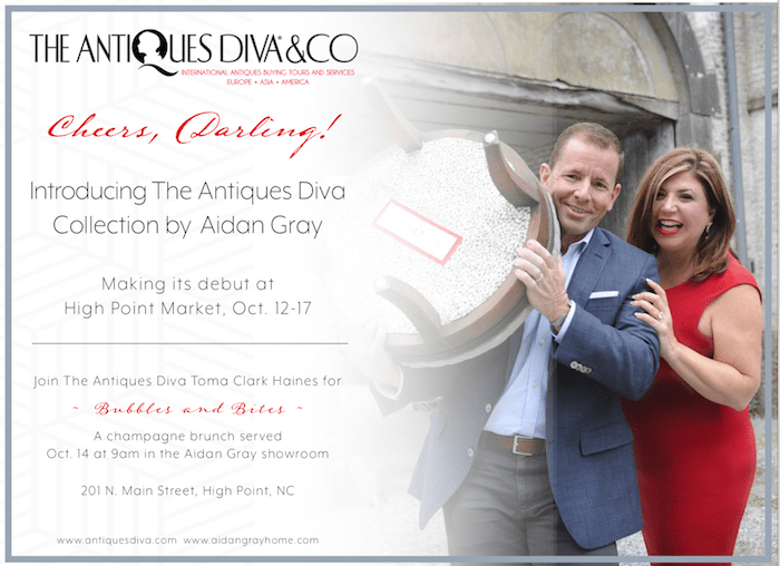 The Antiques Diva Collection by Aidan Gray Home launch event at HPMKT
