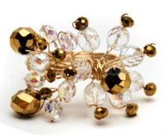 deborah rhodes chandelier napkin rings