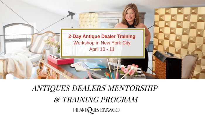 Antiques Dealer Training & Mentorship Program in NYC | The Antiques Diva & Co