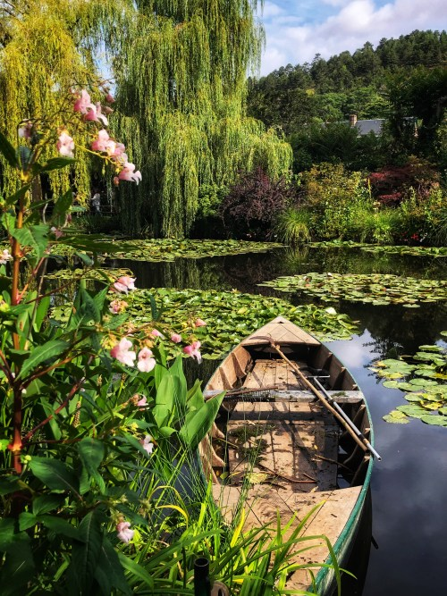 Monet's Waterlily Pond at Giverny | Auntie Toma's Modern Day Grand European Tour | Toma Clark Haines | The Antiques Diva & Co