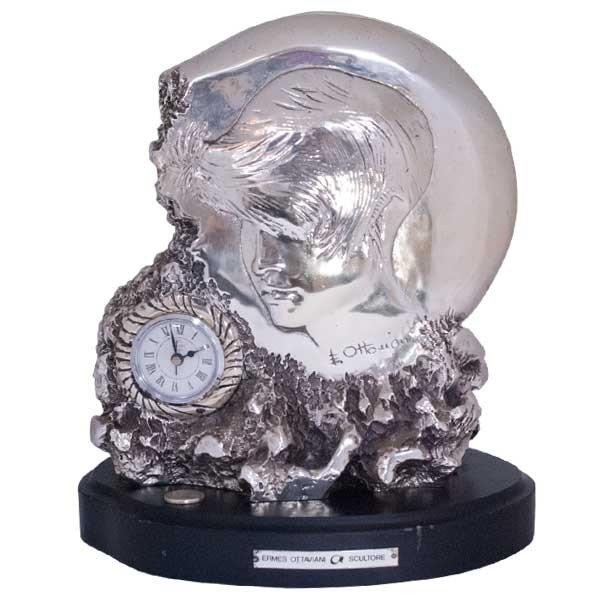 ERMES OTTAVIANI オブジェ 時計 イタリア