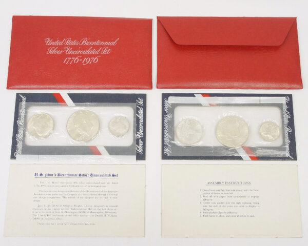 アメリカ建国200周年記念銀貨