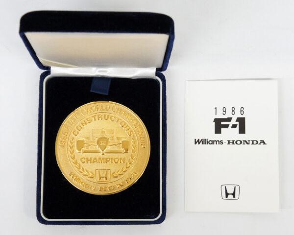 Williams-HONDA 1986 F1