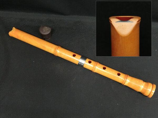 尺八 琴古流 木製