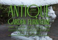 New York Botanical Garden Antique Garden Furniture Show