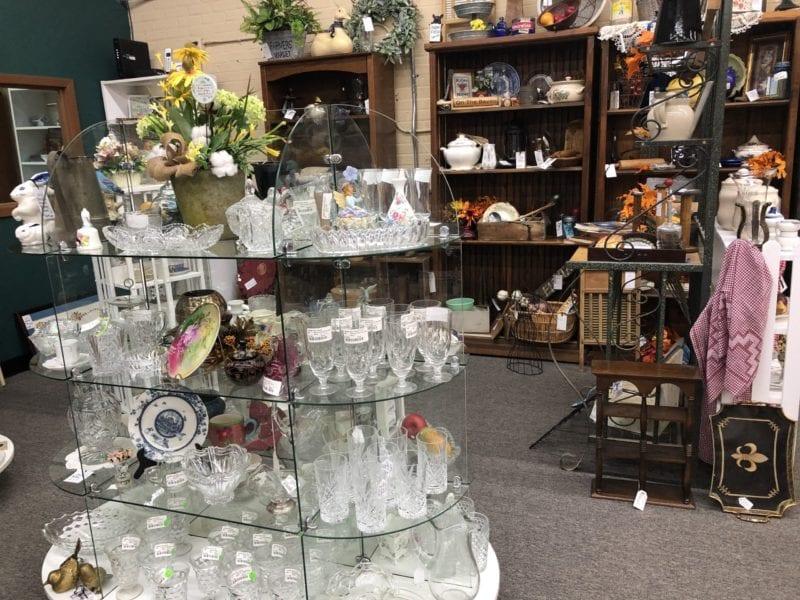 AE Fostoria and Antique Glassware