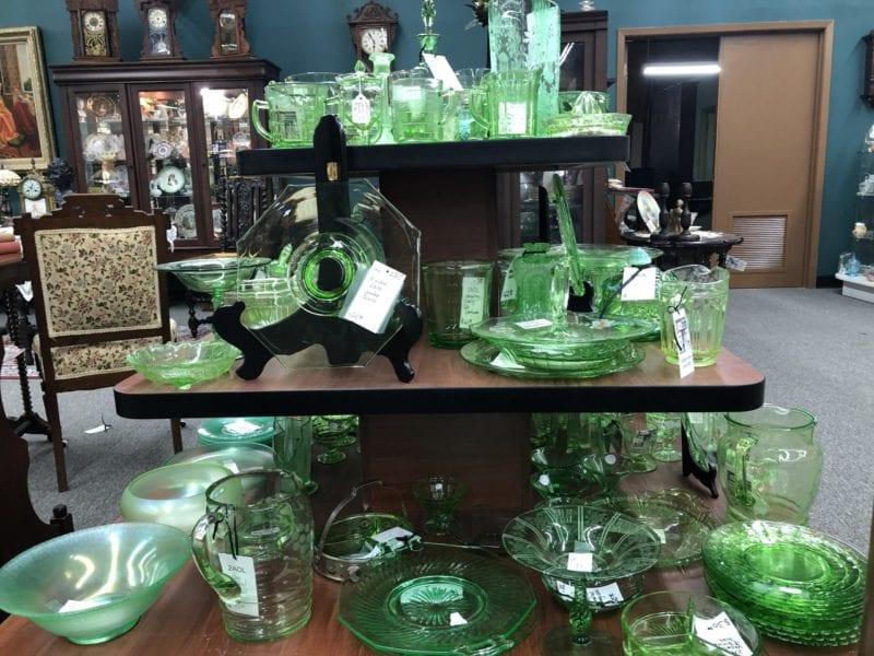 AE Vaseline Glass