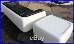 steelcase sofa platner indian design catalogue pdf mid century modern warren fiberglass lucite end table 70s