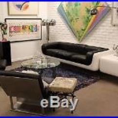 Steelcase Sofa Platner How To Clean Removable Covers Mid Century Modern Warren Fiberglass Lucite End Table 70s