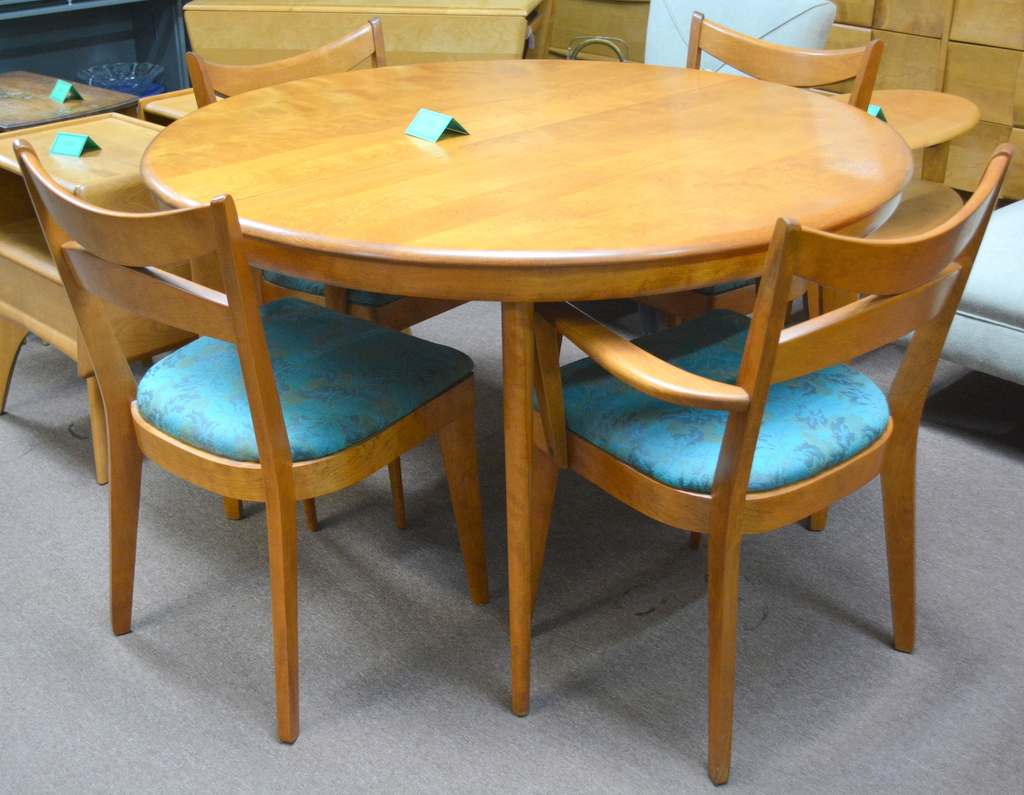 Heywood Wakefield Dining Chairs Heywood Wakefield Dining Room Table And Chairs