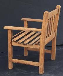 English Lister Chair Of Teak Garden And Patio
