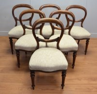 Antique Balloon Back chairs - Antiques World