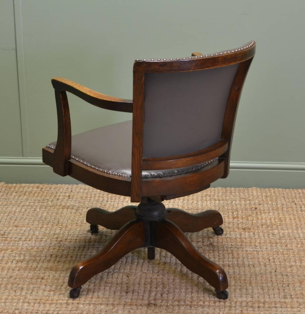 Antique Desk Chair  Antiques World