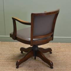 Swivel Chair Sale Uk Folding Portable High Antique Desk Chairs Antiques World