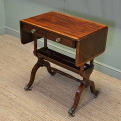 Small Sofa Table Uk Caddy Stunning Quality Figured Mahogany Antique
