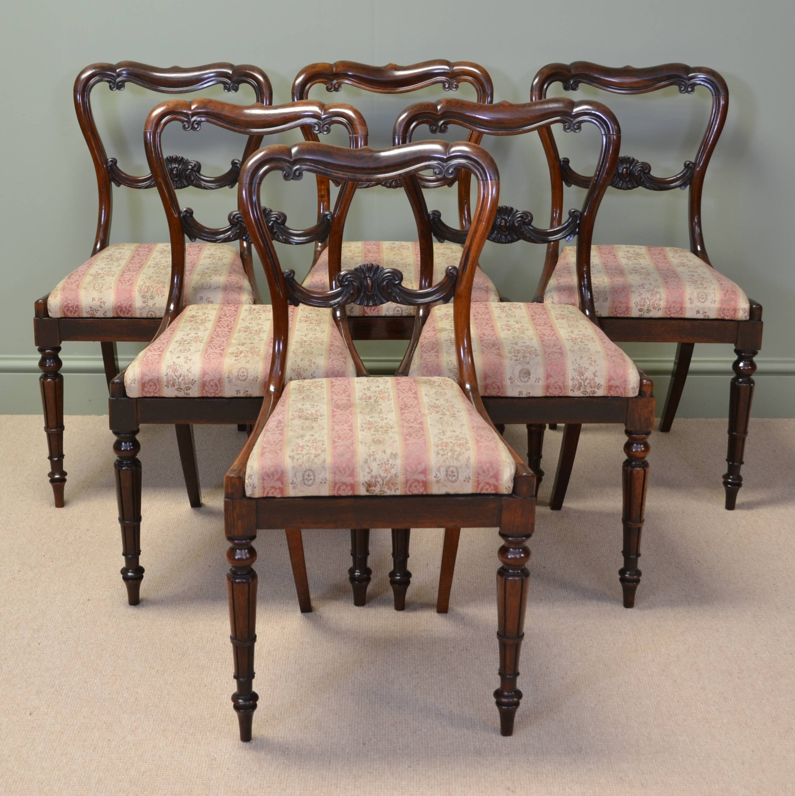 victorian rosewood chairs chair for baby spectacular set of six antique dining