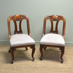 Antique Mahogany Office Chair Toddler Plastic Chairs Target Spectacular Pair Of Victorian Side Desk