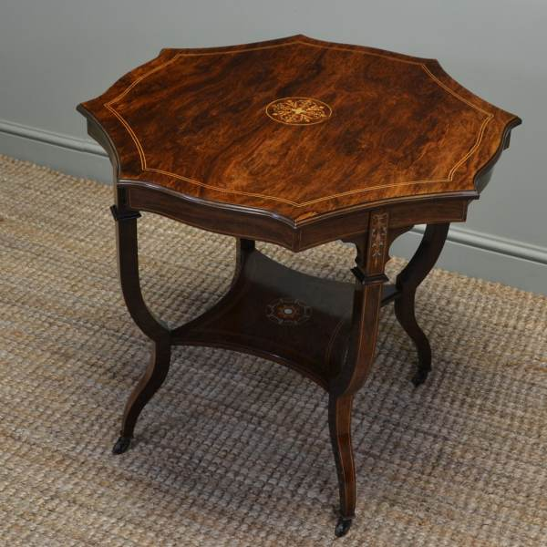 Spectacular Exhibition Quality Antique Victorian Rosewood