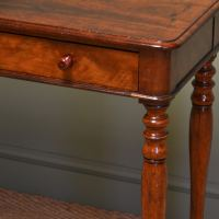 Small Victorian Mahogany Antique Side / Lamp Table ...
