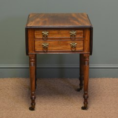 Small Sofa Table Uk Quality Sofas Midlands Contact Number Beautiful Regency Mahogany Antique