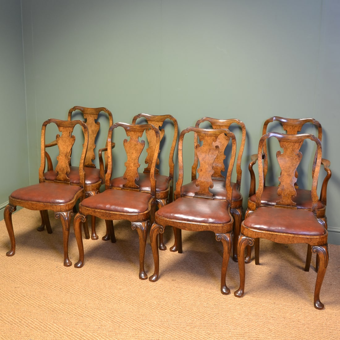 chair design antique hitchcock company edwardian chairs antiques world fine set of eight walnut queen anne dining