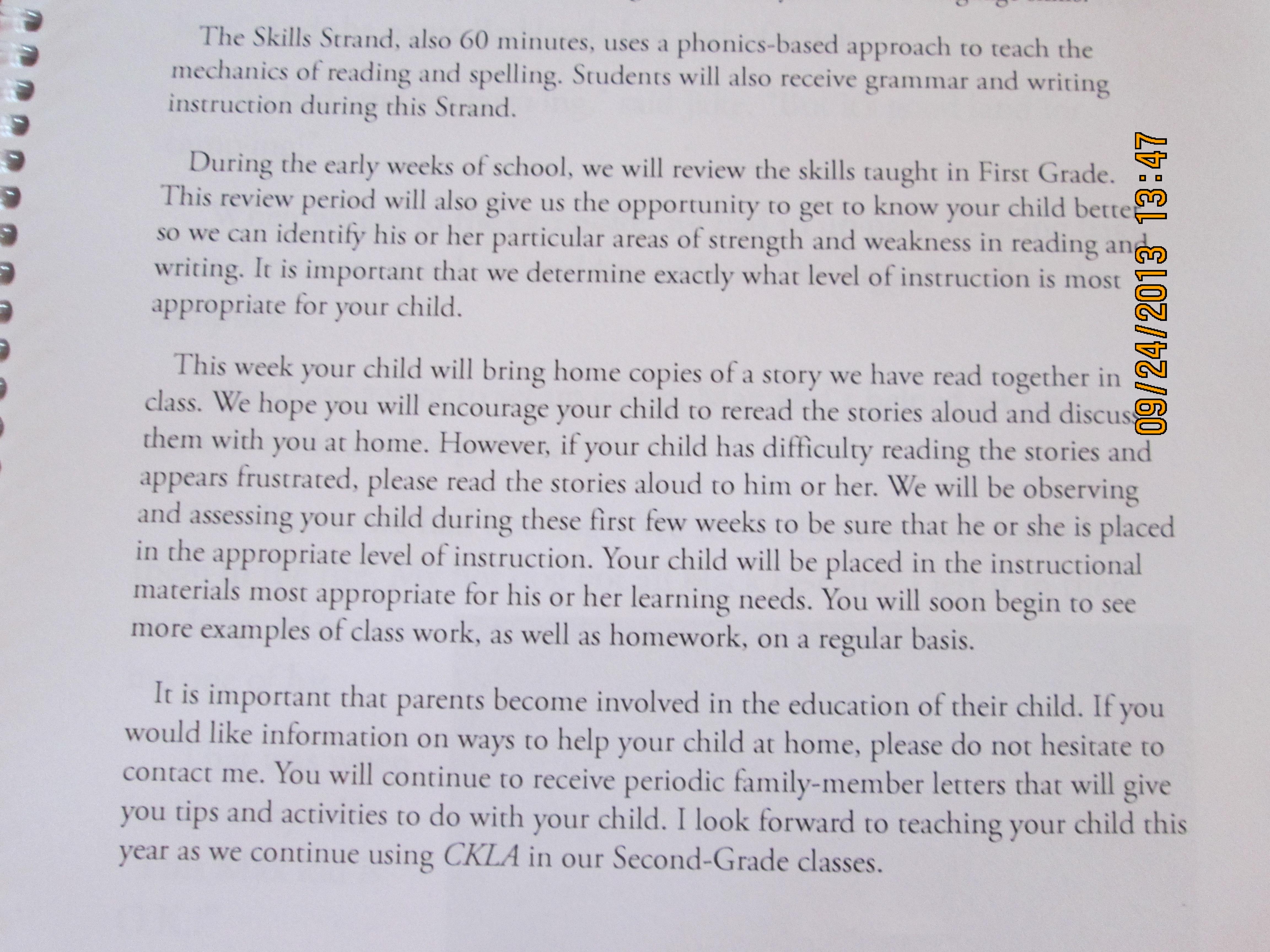 Second Grade Skills Strand Lesson 1 Thanks Engageny