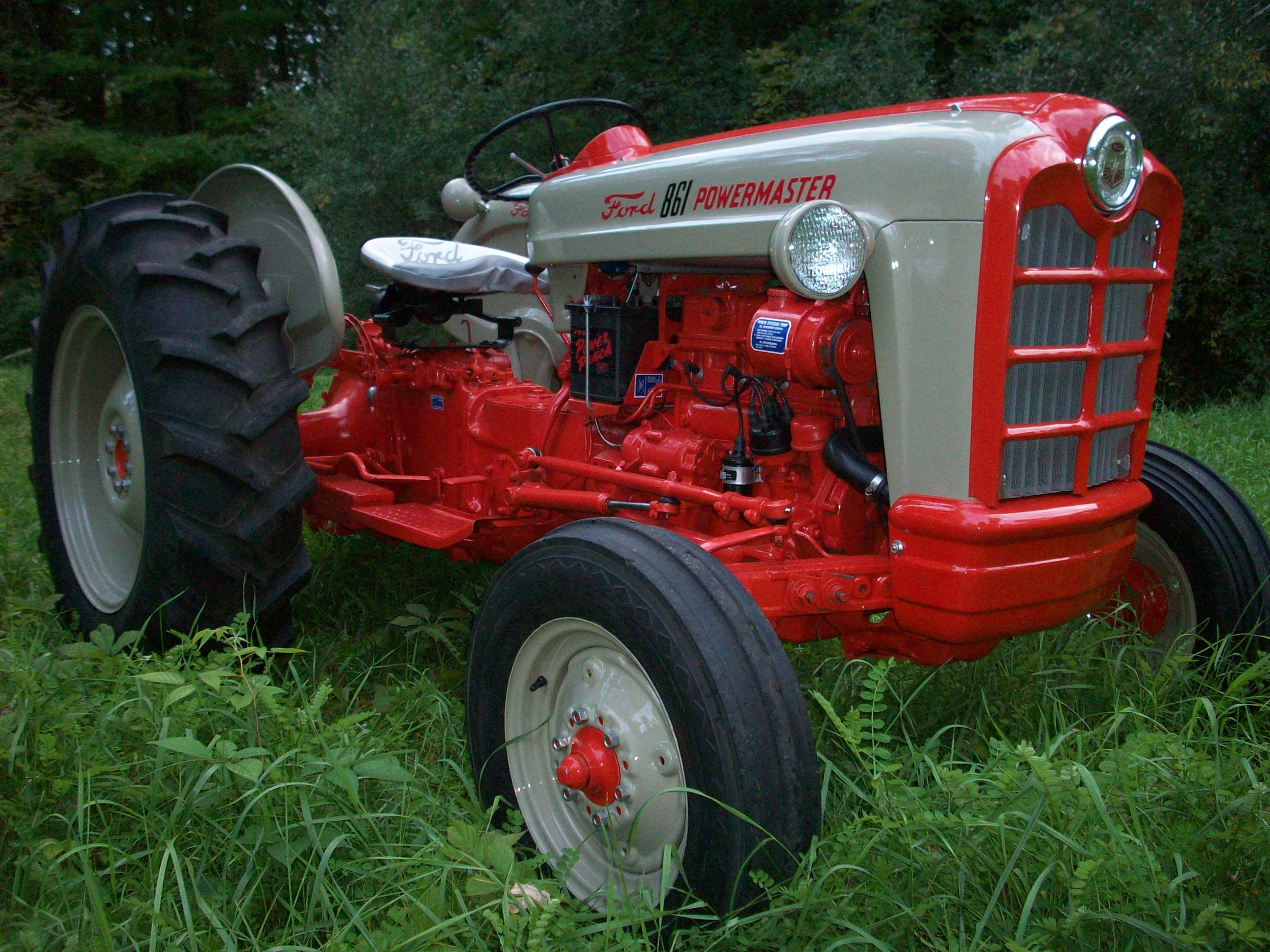 Tractor Story Ford 861 Antique Tractor Blog