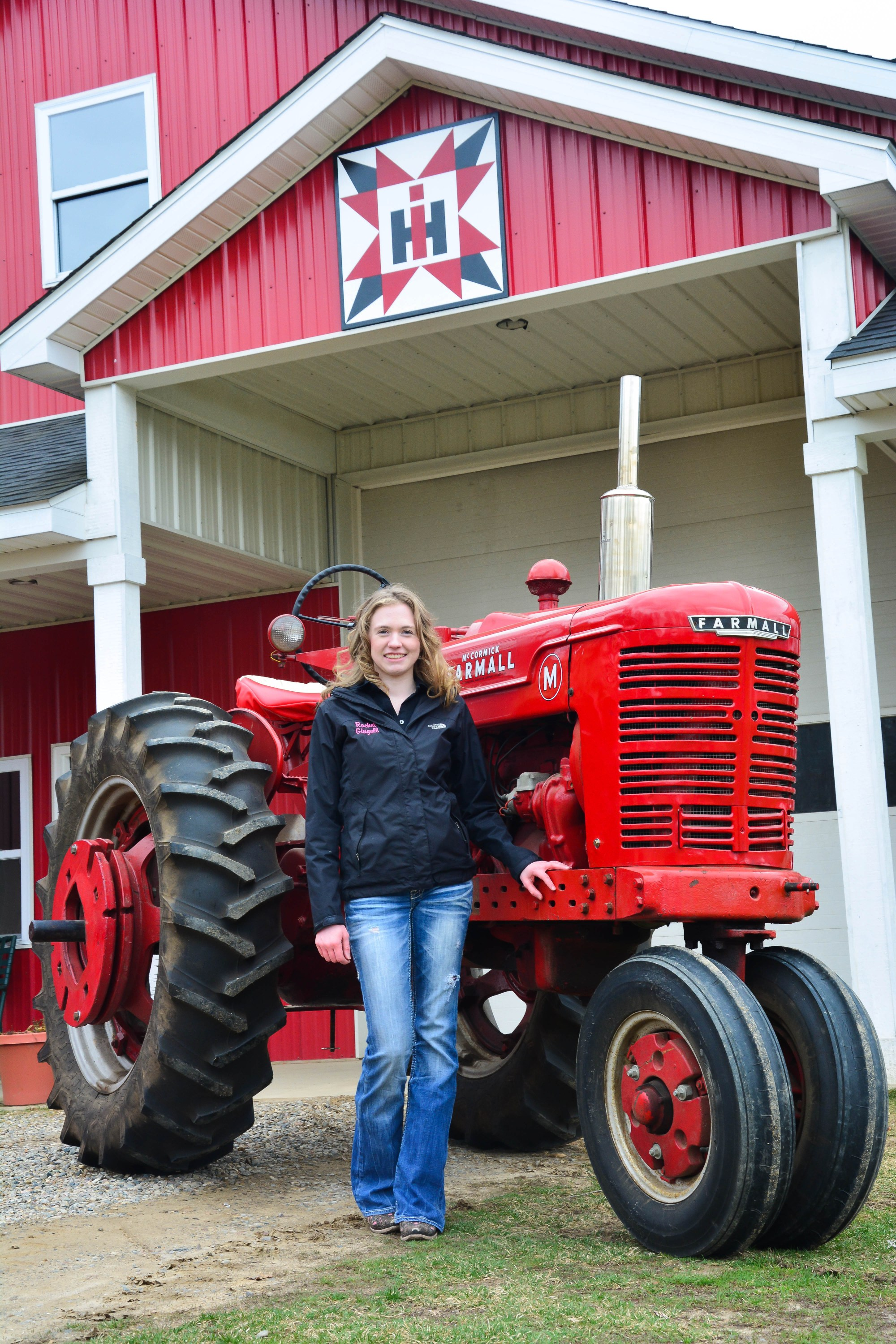 hight resolution of rachel and farmall m