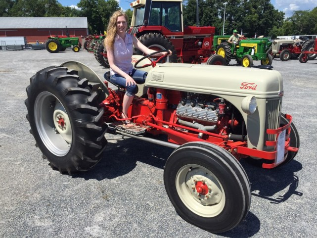 This tractor was converted by Gary Gray of New Jersey.