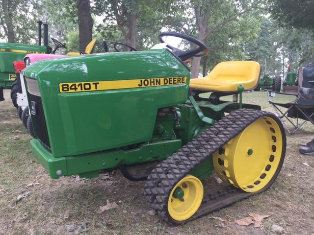 Oldest John Deere Lawn Tractor : Jim s john deere collection antique tractor