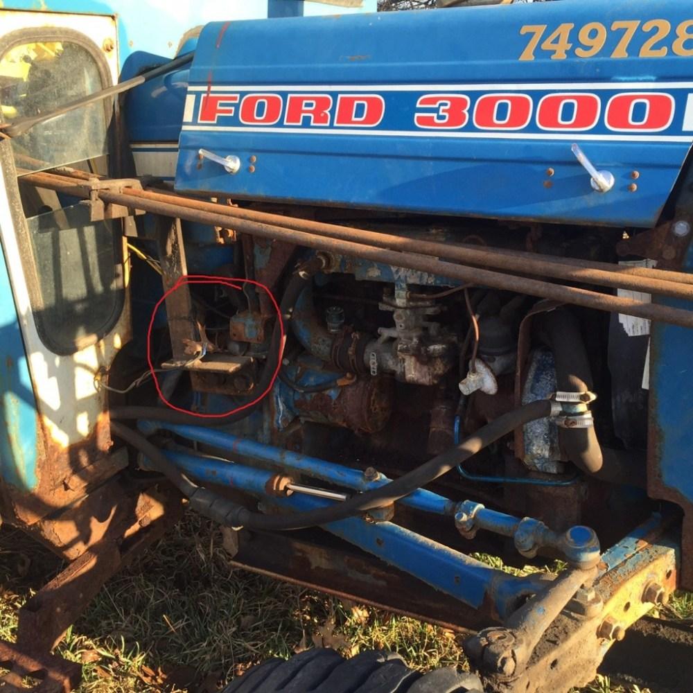 medium resolution of 3610 ford tractor wiring diagram