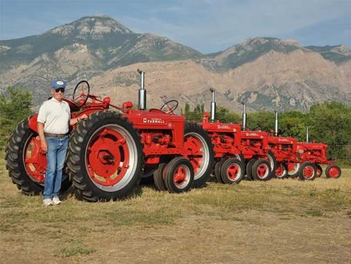 five-farmall-tractors