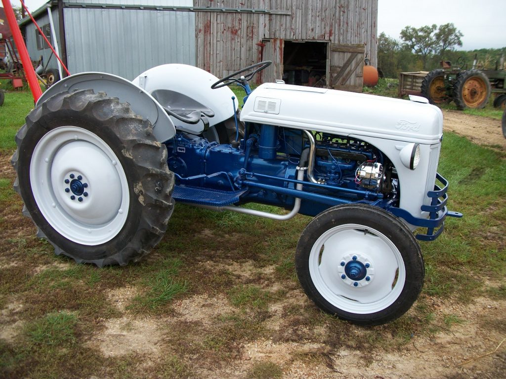 ford 8n tractor how email works explain with diagram before and after antique blog