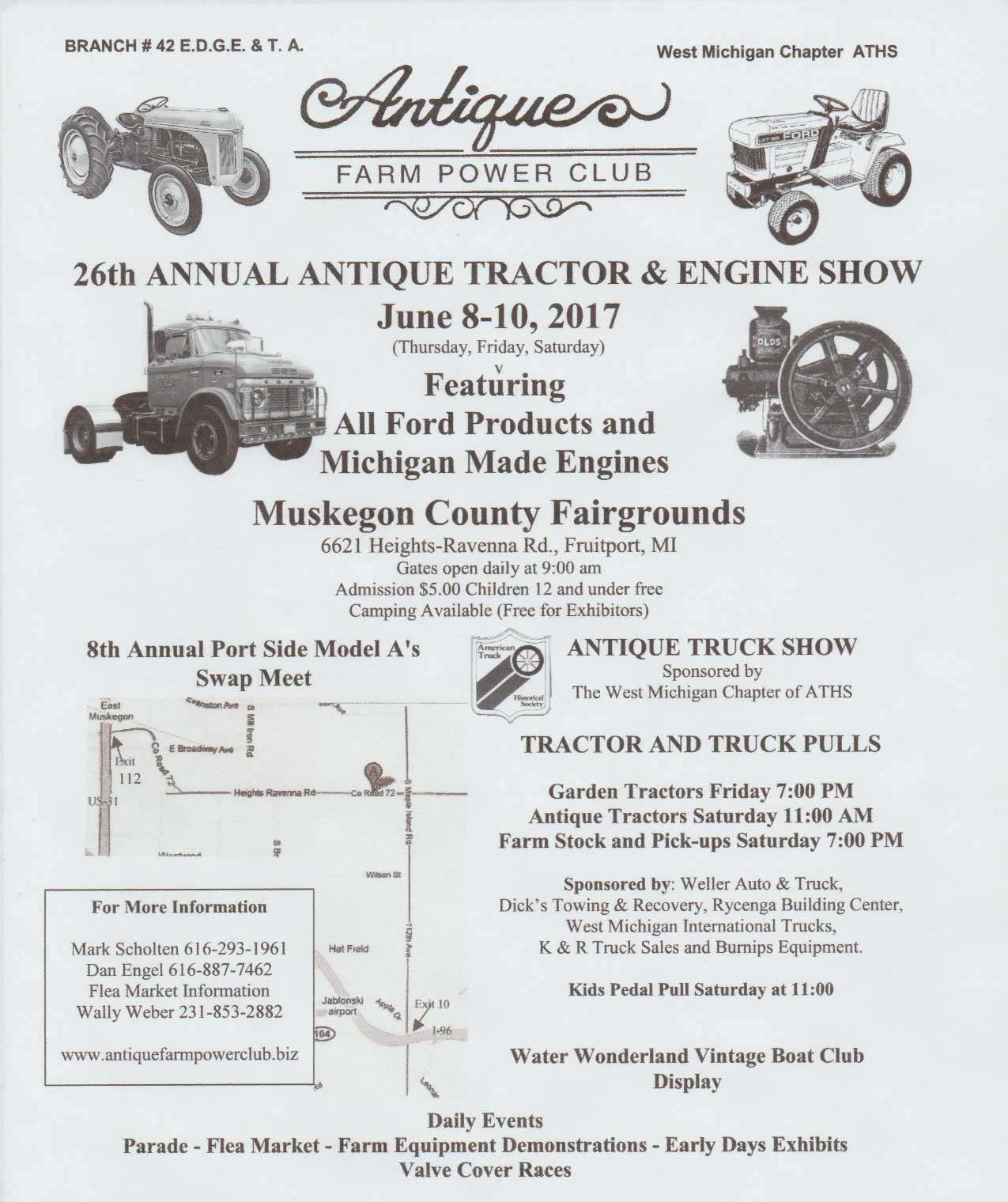 Tractor Shows Calendar Antique Tractor Blog