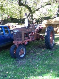 H Tractors Before restoration