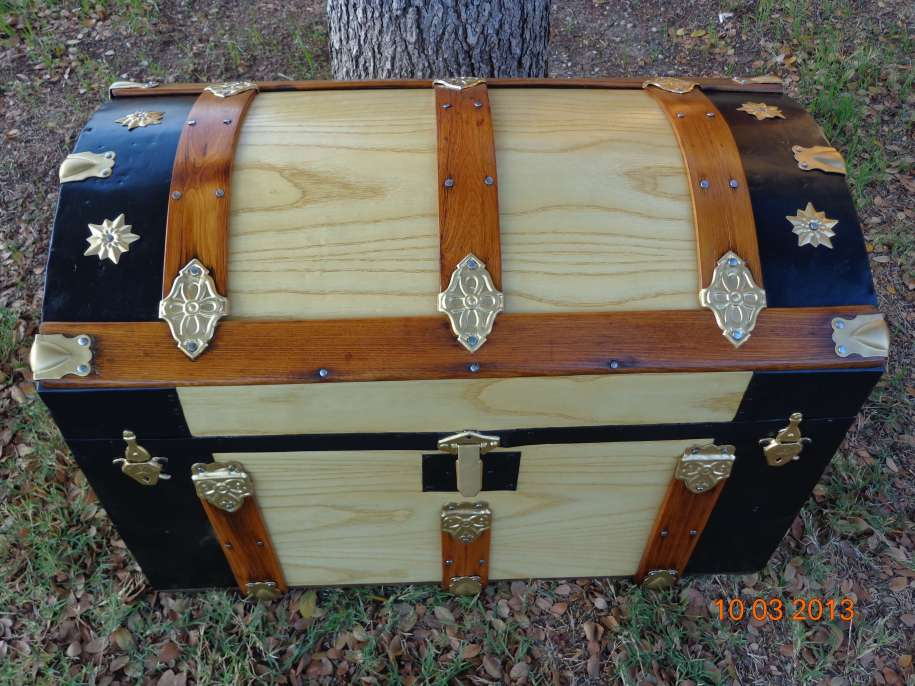 Antique Trunk Restoration - Antique Trunks and Chests