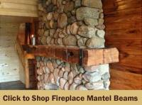 Fireplace Mantels and Rustic Mantel Shelves - Antique ...