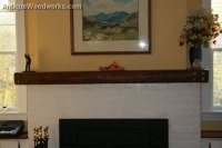 Fireplace Mantels with Iron Straps and Metal Accents ...
