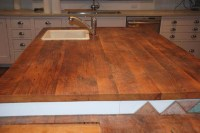 Reclaimed Wood Countertops - Antique Woodworks