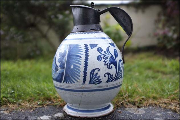 Aiguière bleue 18 ème siècle