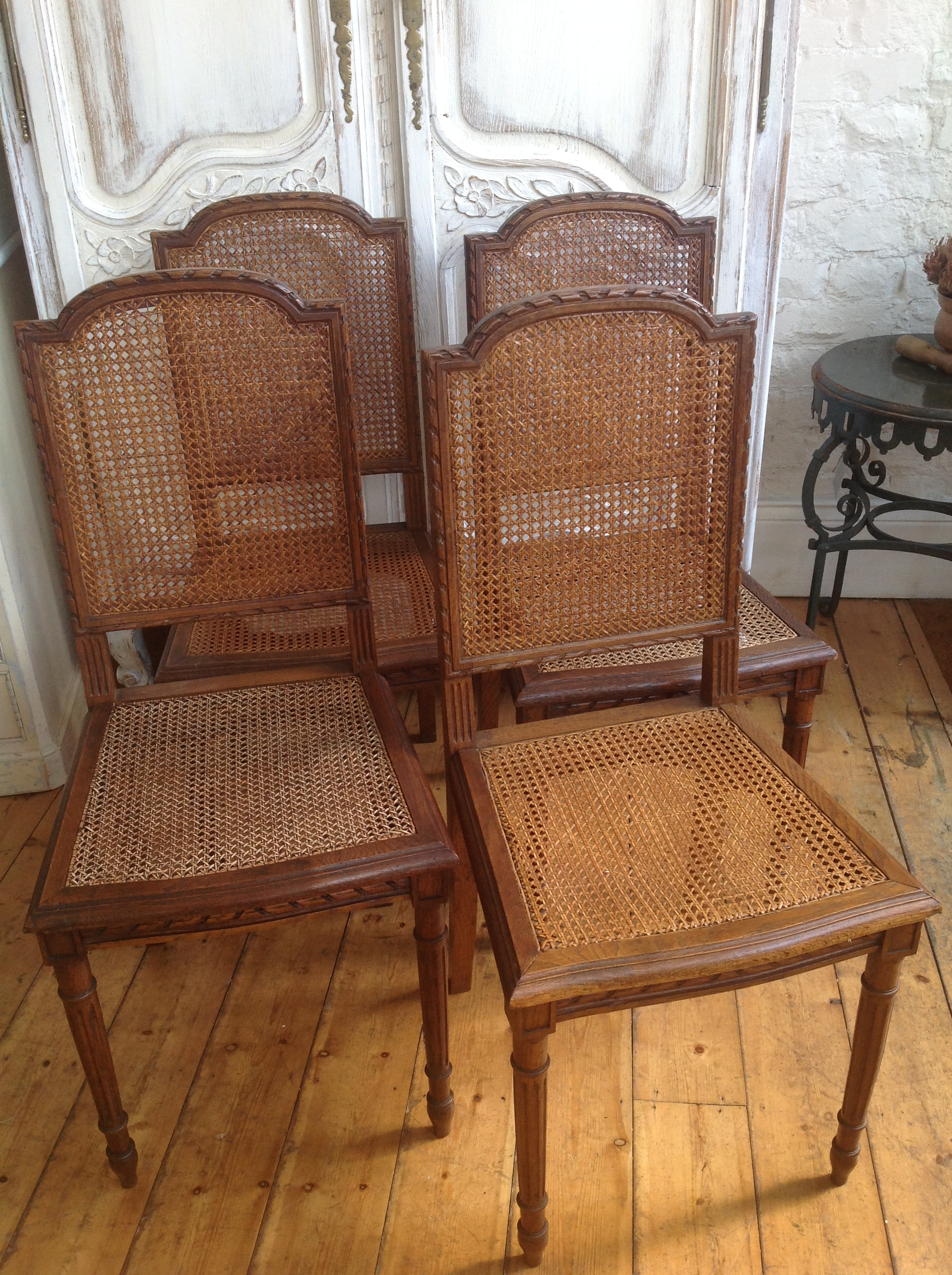 antique cane chairs walmart recliner french antiquites francaises