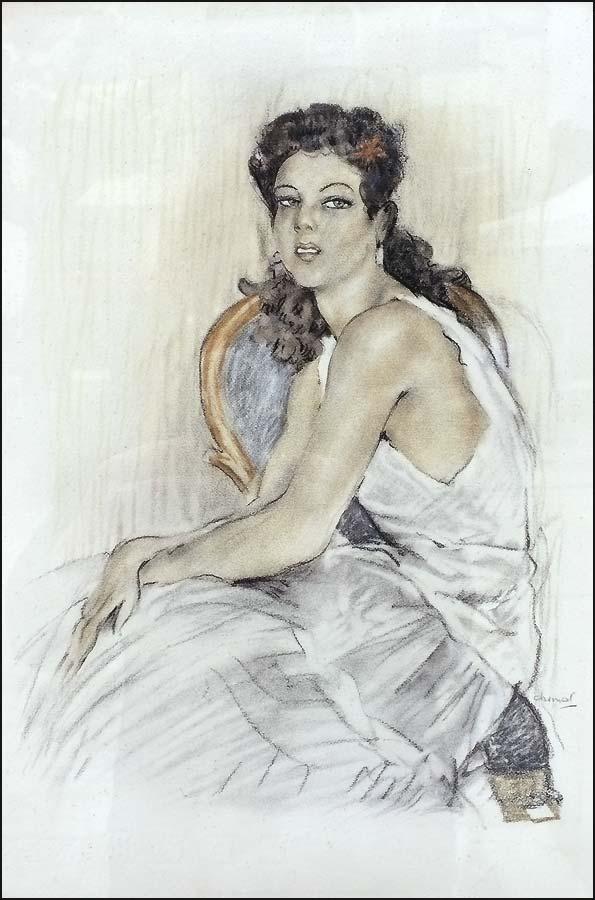 Édouard Chimot artiste peinture