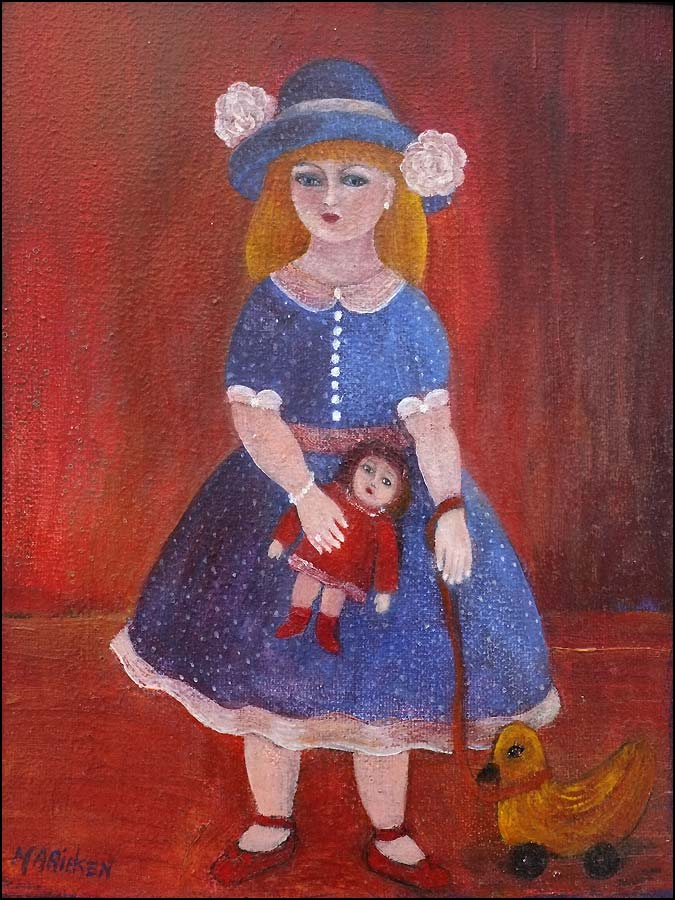 Artiste peinture Marieken