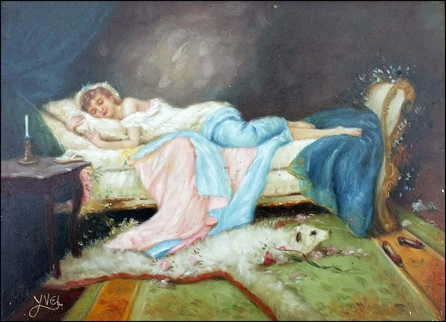 Claude Yvel peinture trompe l'oeil